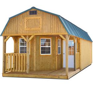 storage buildings cabins